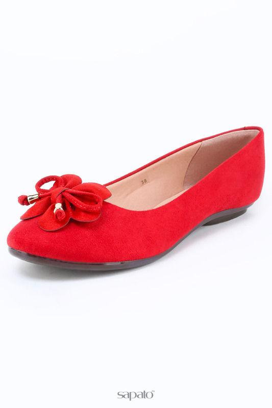 Балетки Moleca Туфли красные