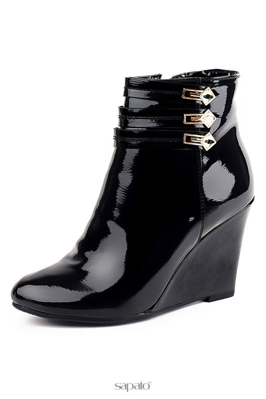 Ботильоны Veidiamo Ботинки чёрные