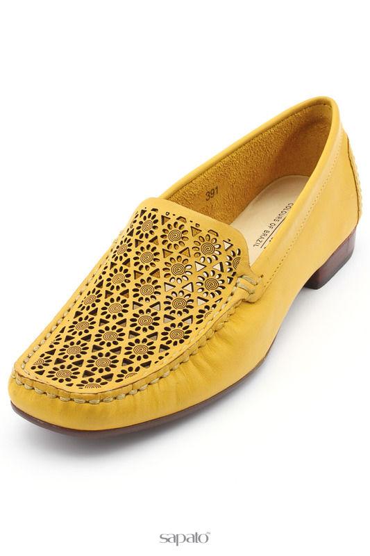 Мокасины Indiana Мокасины жёлтые
