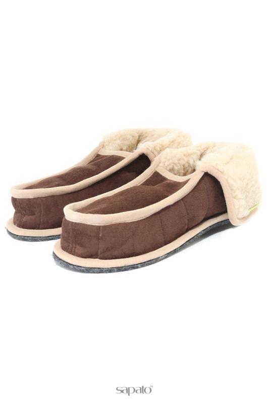 Домашняя обувь HOLTY Тапочки -бабуши бежевые