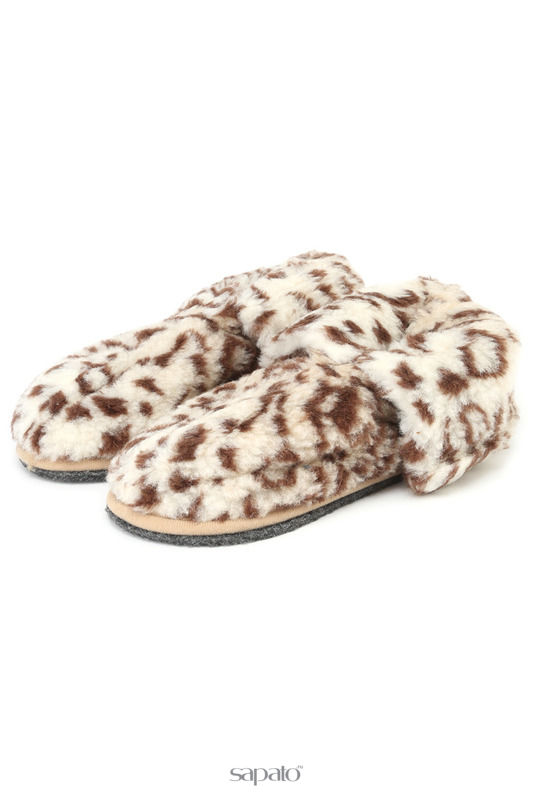 Домашняя обувь HOLTY Тапочки-теплушки Мультиколор