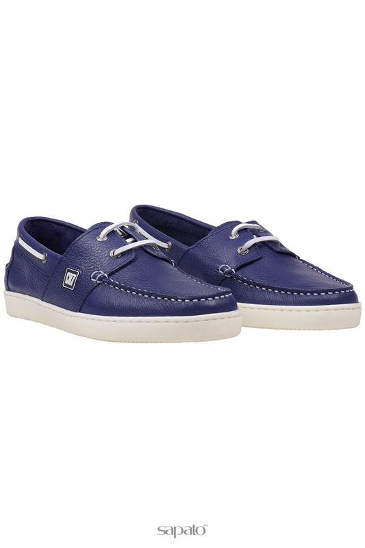 Мокасины CR7 Туфли синие