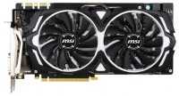 MSI GeForce GTX 1080 1607Mhz PCI-E 3.0 8192Mb 10010Mhz 256 bit DVI HDMI HDCP ARMOR