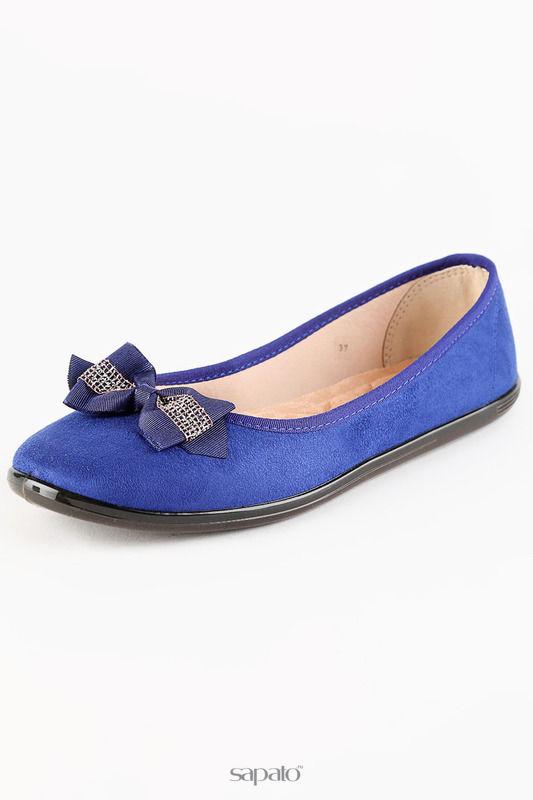 Балетки Moleca Туфли синие