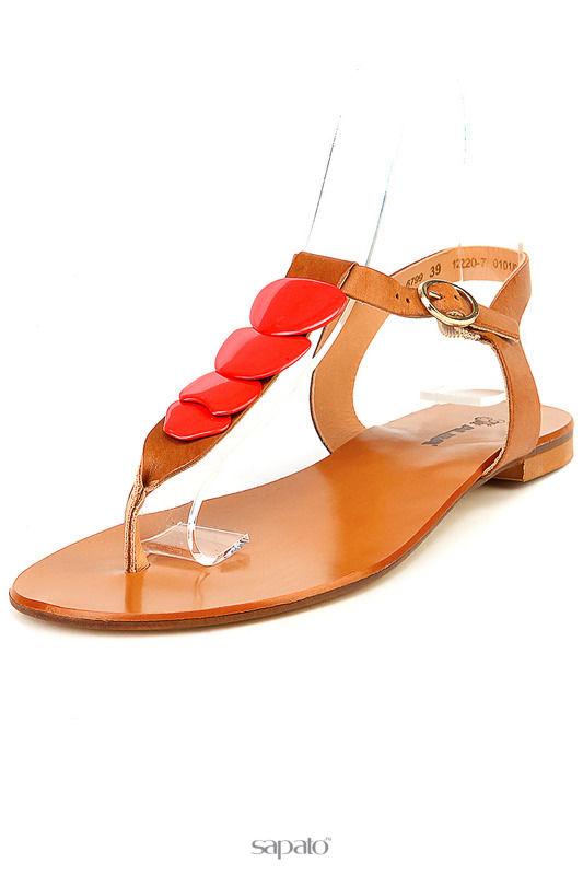Сандалии Alba Туфли летние открытые коричневые