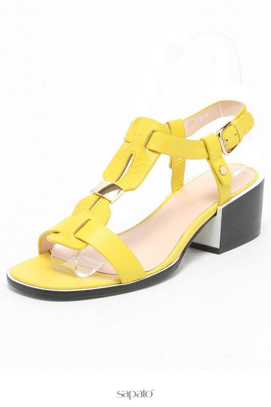 Туфли Renaissance elite Туфли открытые жёлтые