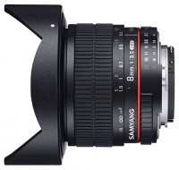 Samyang 8mm f/3.5 AS IF UMC Fish-eye CS II Sony E