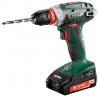 Metabo BS 18 Quick 2.0Ah x2 MetaLoc