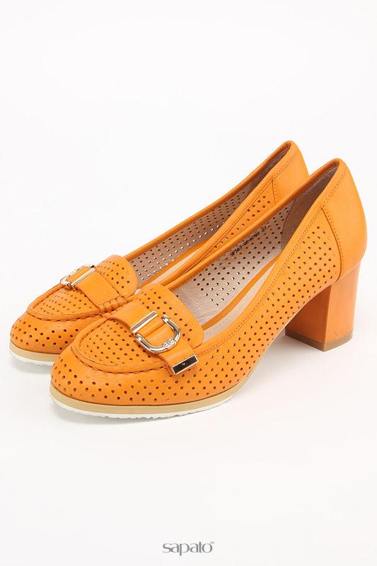 Туфли Carlabei Туфли летние оранжевые