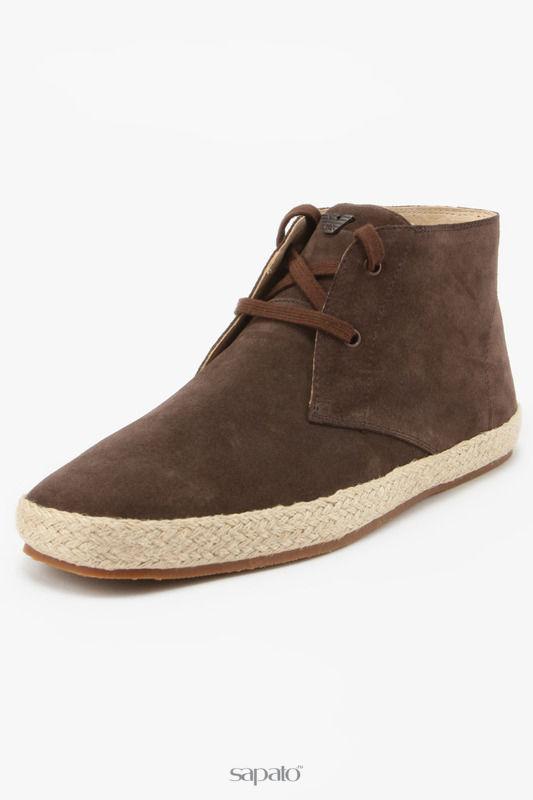 Ботинки Armani Jeans Ботинки коричневые