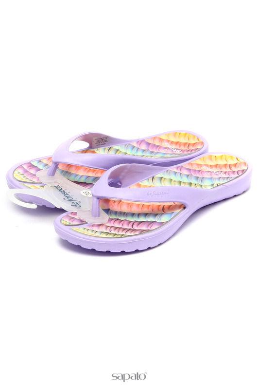 Шлепанцы De Fonseca Шлепанцы фиолетовые