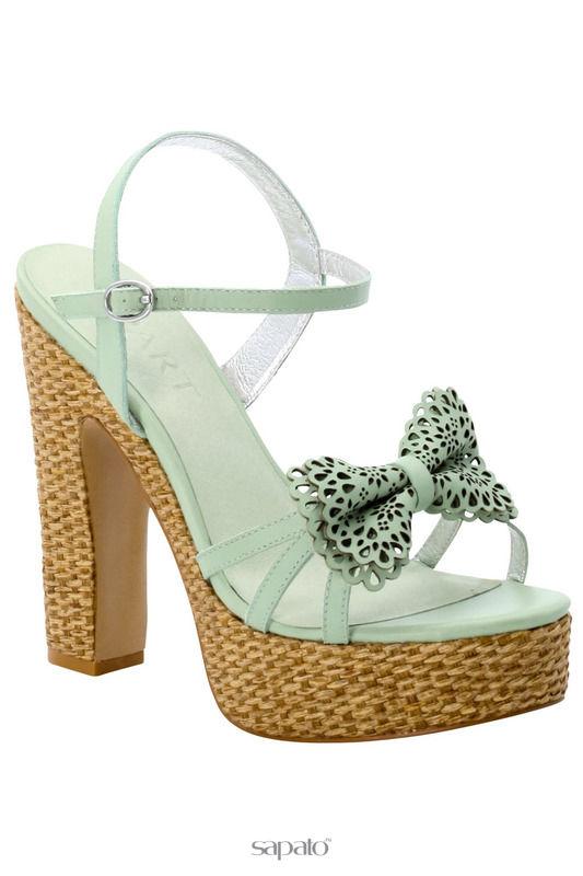 Босоножки Apart Туфли зеленые