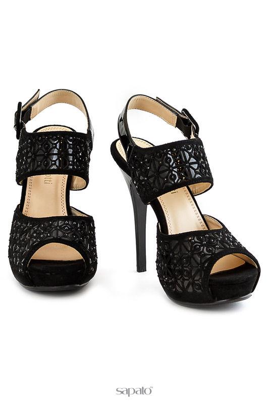 Босоножки LAURA BIAGIOTTI Туфли чёрные