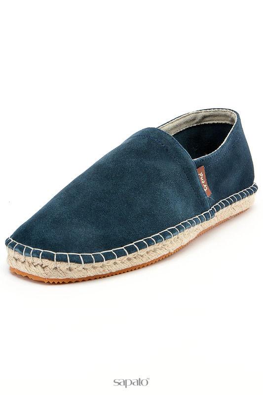 Туфли Dino Ricci trend Эспадрильи синие