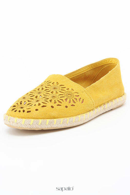 Балетки Dali Эспадрильи жёлтые