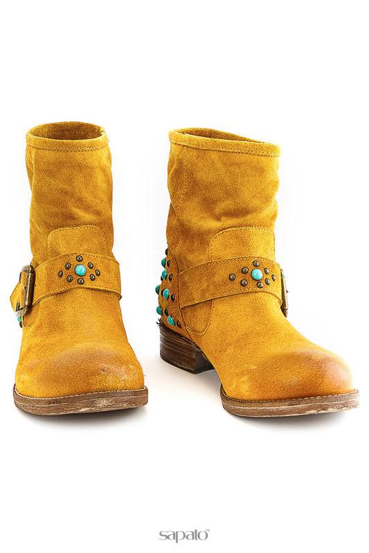 Ботинки GEORGE J. LOVE Ботинки жёлтые