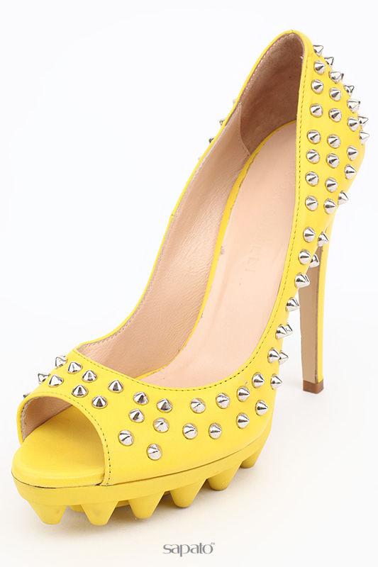 Туфли Giacomorelli Туфли жёлтые