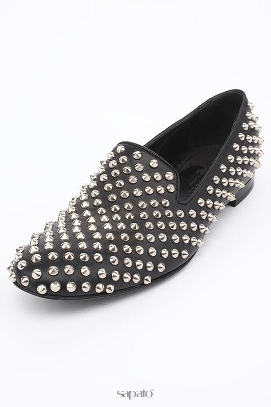 Туфли Giacomorelli Лоферы чёрные