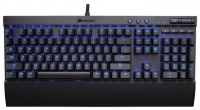 Corsair Gaming K70 Cherry MX Red blue backlighting Black USB