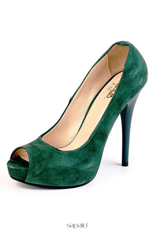 Туфли AVAVA Туфли зеленые