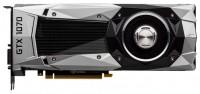 PNY GeForce GTX 1070 1506Mhz PCI-E 3.0 8192Mb 8000Mhz 256 bit DVI HDMI HDCP