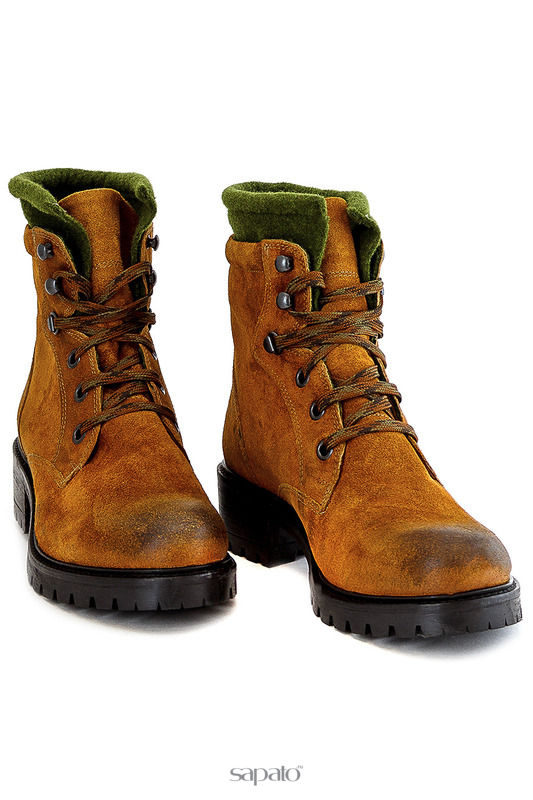 Ботинки ELENA Ботинки жёлтые