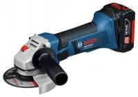 Bosch GWS 18-125 V-Li 4.0Ah x2 L-BOXX