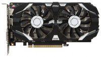 MSI GeForce GTX 1050 Ti 1341Mhz PCI-E
