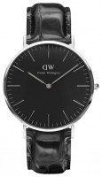 Daniel Wellington Classic Black Reading Silver